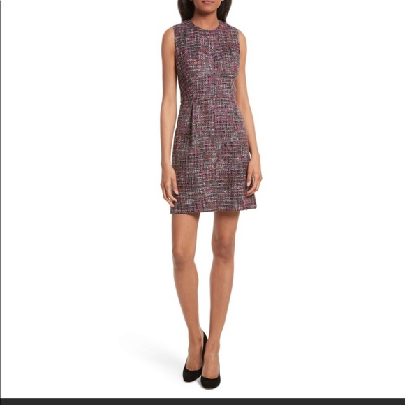 Milly Dresses & Skirts - MILLY Coco A-Line Tweed Dress